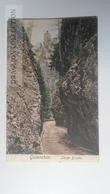 D165340 Austria,   AK - LANGE BRUCKE MIT RUINE GUTENSTEIN  PU 1920 - Stamp 50 Heller - Gutenstein