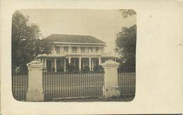 Indonesia, JAVA SOERABAIA, Residence Building (1910s) RPPC Postcard - Indonesië