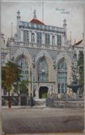 Danzig Gdansk Polen Artushof Feldpost 1916 - Danzig