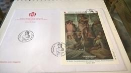 SMOM  2011 GIORGIO VASARI FDC - Sovrano Militare Ordine Di Malta