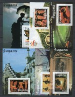 Barcelona 92. Guyana 1989. Mi Blocks 65-70 ** MNH. - Verano 1992: Barcelona