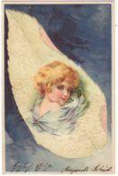 N°12995 - Portrait D'enfant Sur Une Plume - Clapsaddle - Strasse - Other