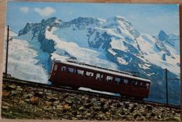 Die Gornergratbahn Zermatt Gornergrat Breithorn Zahnratbahn - VS Wallis
