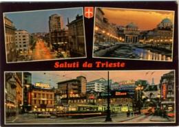 TRIESTE  Saluti Da..  Vedutine 3 Foto  Insegne Coca-Cola  Motta  Birra Dreher  Campari  Il Piccolo - Trieste