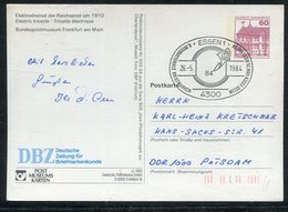 Bundesrepublik Deutschland / 1984 / Privat-Bild-Postkarte, SSt. Essen (19214) - Privatpostkarten - Gebraucht