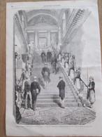 Gravure  1869 SESSION EXTRAORDINAIRE AU SENAT     Rouher - Sin Clasificación