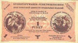 Northern Russia - 1 Punkt 1944 UNC Notgeld (German Occupation) - [ 4] 1933-1945 : Tercer Reich