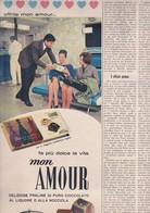 (pagine-pages)PUBBLICITA' FERRERO   Tempo1961/01. - Libri, Riviste, Fumetti