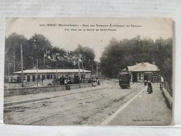 Brest. Recouvrance. Gare Des Tramways Electriques Du Conquest - Brest