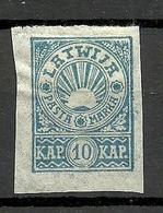 LETTLAND Latvia 1919 Michel 24 B * - Lettonia