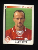 Figurina Calciatori Italiani Panini 1997-1998 - Piacenza - N.279  Marco Rossi  - Football - Soccer - Socker - Fussball - - Edizione Italiana