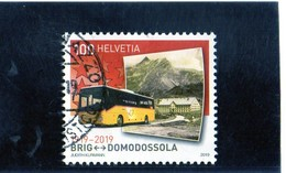 2019 Svizzera - Cent. Ferrovia Briga-Domodossola - Schweiz