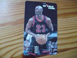 Prepaid Phonecard USA, World Com. - Basketball, Micheal Jordan - Stati Uniti