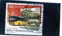 2017 Svizzera - Cent. Ferrovia Briga-Domodossola - Switzerland