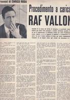 (pagine-pages)RAF VALLONE  Tempo1961/04. - Libri, Riviste, Fumetti