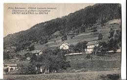 CPA De ST-GERVAIS Les BAINS (74) - Villa Edelweiss - Châlet Lannois (annexe) Déjeuners Et Goûters Champêtres // BE - Saint-Gervais-les-Bains