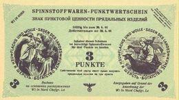 Northern Russia - 3 Punkte 1944 UNC Notgeld (German Occupation) - [ 4] 1933-1945 : Third Reich