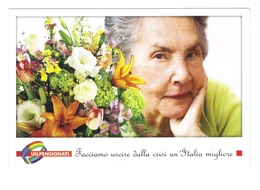Cartolina Postale Italia -  Sindacato UIL Pensionati - Sindacati