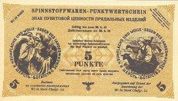 Northern Russia - 5 Punkte 1944 UNC Notgeld (German Occupation) - [ 4] 1933-1945 : Terzo  Reich