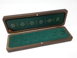 HOLZ Münzkassette Für 20 EURO WALD Goldmünzen Gebraucht Neuwertig (Z1532) - Matériel