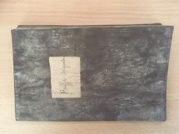 Livret Ouvrier 1863 Le Creusot - Modeleur - Buffet - - Documentos Históricos