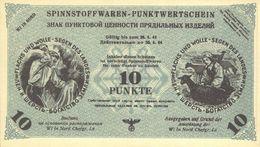 Northern Russia - 10 Punkte 1944 UNC Notgeld (German Occupation) - Verzamelingen