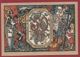 Allemagne 1 Notgeld  50 Pfenning Stadt Tettnang   (RARE) Dans L 'état N °4251 - [ 3] 1918-1933 : Weimar Republic
