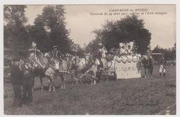 62  CAMPAGNE LES HESDIN  -  Cavalcade Du 24 Août 1913 - Char Ecole Menagère Carte De Lucie Trunet -  CPA  N/B  9x14 BE - France