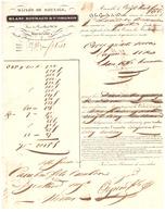 MAISON DE ROULAGE -BLANC BOUNAUD & VIORGNON  MARSEILLE 1838- - 1800 – 1899