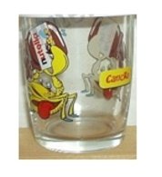 Bicchiere O Bicchieri Nutella Kinder Ferrero 2001 - Segni Zodiacali - Cancro  ( Glass - Glasses - Verres - Vasos - Glase - Bicchieri