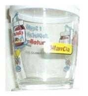 Bicchiere O Bicchieri Nutella Kinder Ferrero 2001-  Segni Zodiacali - Bilancia  ( Glass - Glasses - Verres - Vasos - Gla - Bicchieri