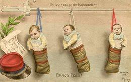 UN BON COUP DE BAÏONNETTE - BRAVO POILU !  - - Babies