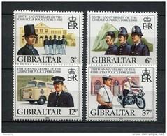 Gibraltar 1980. Yvert 403-06 ** MNH. - Gibilterra