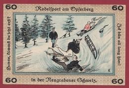 Allemagne 1 Notgeld  60 Pfenning Stadt Neugraben-Hausbruch   (RARE) Dans L 'état N °4257 - Collections