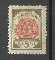 LETTLAND Latvia 1919/21 Michel 31 * - Lettonia