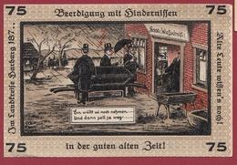 Allemagne 1 Notgeld  75 Pfenning Stadt Neugraben-Hausbruch   (RARE) Dans L 'état N °4258 - Collections