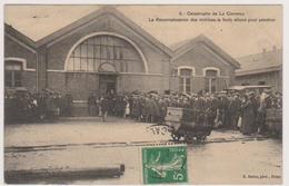 62  LA CLARENCE  -  Mines Catastrophe Reconnaissance Des Victimes -  CPA  N/B  9x14 BE - France