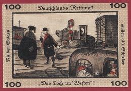 Allemagne 1 Notgeld  100 Pfenning Stadt Neugraben-Hausbruch   (RARE) Dans L 'état N °4259 - Collections