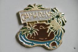 Pin's - Autres - CAMARON - Ile Palmiers - Badges