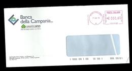 Affrancatura Meccanica Rossa - Banca Della Campania Avellino Da Euro 0.60 - Affrancature Meccaniche Rosse (EMA)