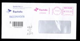 Affrancatura Meccanica Rossa - Equitalia Avellino Da Euro 2.80 - Affrancature Meccaniche Rosse (EMA)