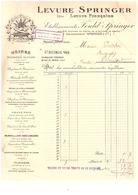 LEVURE SPRINGER  DITE LEVURE FRANCAISE - ETABLISSEMENTS FOULD SPRINGER  MAISONS-ALFORT  1923 - France