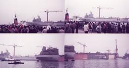 DUNKERQUE -- Lancement Du JACUHY En 1984  Personnel Et Leur Famille 12 Photos - Bateaux