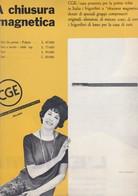 (pagine-pages)PUBBLICITA' CGE  Successo1961/07. - Libri, Riviste, Fumetti