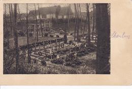 (80) - Chaulnes Friedhof Cimetière   Carte Allemande 1 ° Guerre - Chaulnes