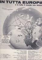 (pagine-pages)PUBBLICITA' ALITALIA  Successo1961/07. - Libri, Riviste, Fumetti