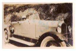 ROLLS BLANCHE En Algerie     23 MARS 1930 - Cars