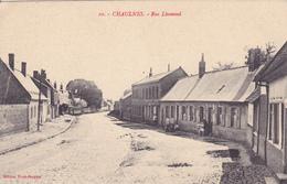 (80) - Chaulnes Rue Lhomond  Carte Allemande 1 ° Guerre - Chaulnes
