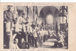 (80) - Somme Inneres Von Kirche   Carte Allemande 1 ° Guerre - France
