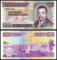 Burundi 100 Francs 2011 UNC - Burundi